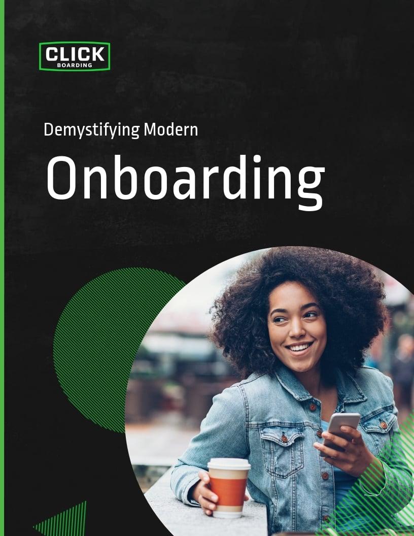 Demystifying Modern Onboarding eBook Cover